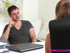FemaleAgent Studs failure leads to pussy play