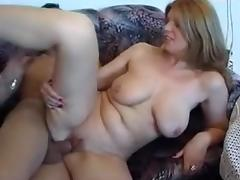 I am fucking with my lover in amateur big tits video