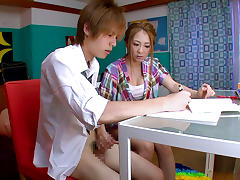 Incredible Japanese girl Minori Hatsune in Fabulous JAV censored Facial, Hairy movie