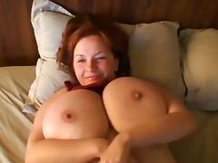 Anna heeft grote ECHTE hang borsten