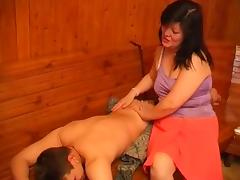 Mom and Boy, 18 19 Teens, Asian, Fucking, Mature, Old