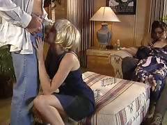 Blonde in the pussy, Asian in the ass, by Two blacks