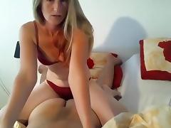 Blonde, Blonde, Couple, Small Tits, Webcam