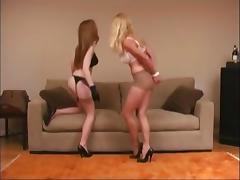 Bound, BDSM, Bondage, Bound, Latex, Lesbian