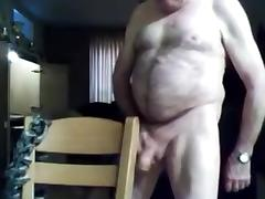grandpa stroke and play on cam 1