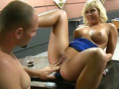 Bar, Amateur, Bar, Blonde, Group, Hardcore