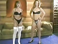 Retro Hotties Catfight