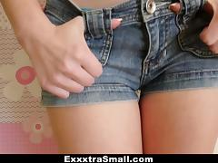 ExxxtraSmall - Cute Girl Shows Us Her Tiny Teen Body
