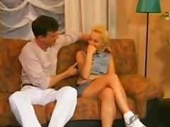 German Blonde Girl Sex