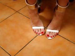 tx-milf-white heels