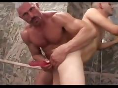 Muscled not dad fucks raunchy boy