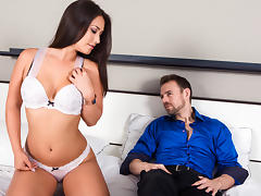 Eva Lovia & Erik Everhard  in Broken Vows, Scene 1