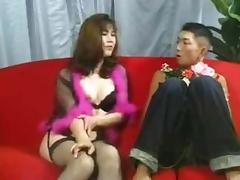 Japanese shemale in mutual sex