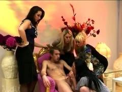 Cfnm cock fucks pussy