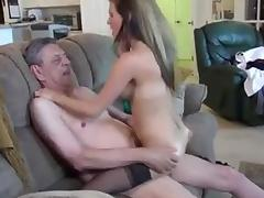 sluty blonde and her sugar Sweet older man