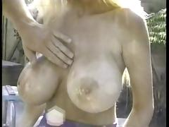 Oil, Big Tits, Boobs, Oil, Pool, Vintage