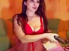 Lingerie, Amateur, Dildo, Fingering, Lingerie, Pussy