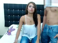 Bestcouplex: couple fucking in front of webcam