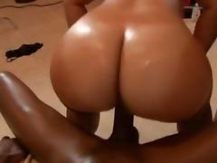 My Favorite Reverse Cowgirl Scenes: Black Butts Vol. 1