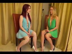 2 mistress nipple torture