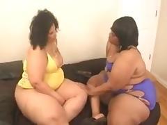Lesbian BBW, BBW, Blonde, Chubby, Chunky, Fat