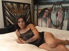 Creampie for hot webcam girl