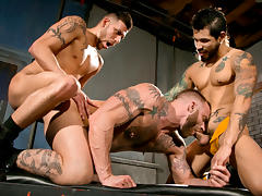 Under My Skin - Part 2 XXX Video: Draven Torres, Derek Parker, FX Rios