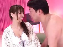 Sexy Riho combines the vibrations with the penetration