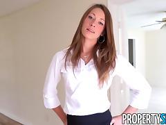 PropertySex - House flipping agent fucks her handyman
