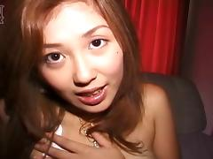 Asian pussy with pretty pubic hair pleasured and fucked