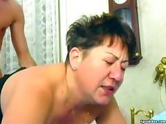 Chubby granny needs a hard fuck