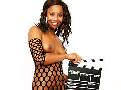 Nelly Black in First Time On Camera - MagmaFilm