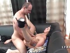 Amatrice francaise se fait eclater le cul pour son casting