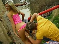 Young, Blowjob, Close Up, Couple, Cowgirl, Doggystyle