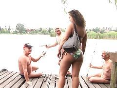 Bikini, Bikini, Bitch, Chubby, Curly, Foursome