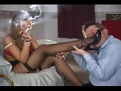 Smoking, Femdom, Lipstick, Mistress, Smoking, Cigarette
