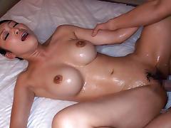 Amazing Japanese girl Reiko Kobayakawa in Crazy JAV censored Cunnilingus, Big Tits clip