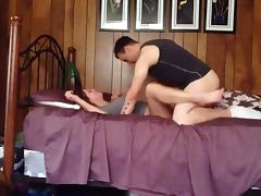 Co-worker gets missionary and doggy style fucked