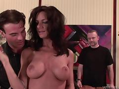 Sarah is able to handle even the roughest pussy pounding