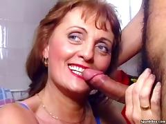 Mom and Boy, 18 19 Teens, Granny, Hairy, Mature, Old