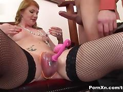 Erika in Erika Gets Her Pussy Brutally Blown Up  - PornXn
