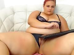 BBW, Amateur, BBW, Big Tits, Masturbation, Redhead