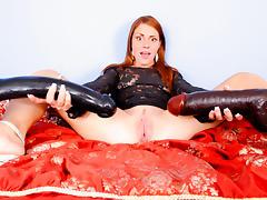 Scarlett Wild in My Gigantic Toys #16, Scene #01