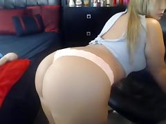 Ass, Ass, Big Tits, Blonde, Solo, Webcam