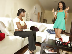 Lotus Lain in Lesbian Beauties #15 - All Black Beauties, Scene #02 - SweetHeartVideo