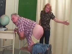 Enough of class work,horny blonde teacher gets fucked hardcore in class