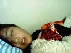 Amazing Webcam clip with Asian scenes