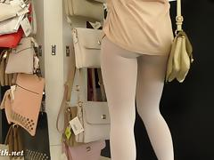 Jeny Smith Pantyhose spycam