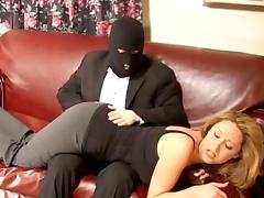 Burglar, Fingering, Fucking, Mature, Old, Punishment