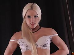 Stunning Blanche Bradburry gives the best POV blowjob